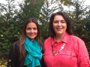 Dr. Shefali Tsabary and Ellen F. Gottlieb
